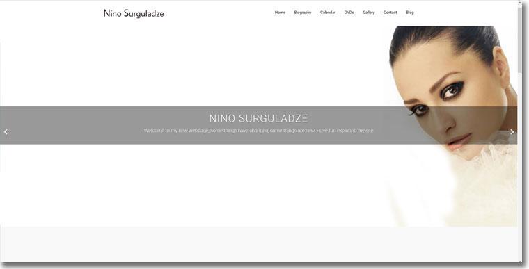 Nino Surguladze - Mezzo Soprano
