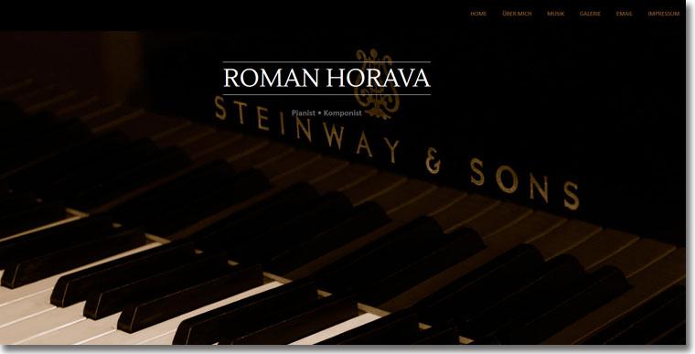 Roman Horava - Pianist -Komponist